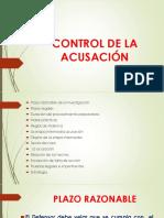Control de La Acusación defensa publica penal Guatemala