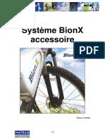 Cours - Système BionX Accessoire v 0 2