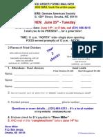 Food Order Form2mail 5 1 19