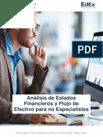 Analisis de estados financieros y flujo de efectivo
