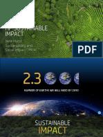Sustainable impact HP