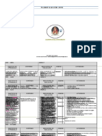 Planificacion Anual Matematicas 4º
