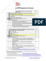 PMP Question Answers