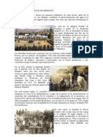 Historia de La Ciudad de Mendoza