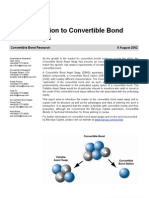 Convertible Bond Asset Swaps