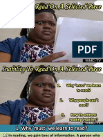Inability to Read PPT by Pacaldo and Villaester