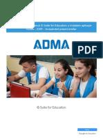Ghid de Activare G Suite for Education Și Instalare Aplicație ADMA SIIIR - Învățământ Preuniversitar