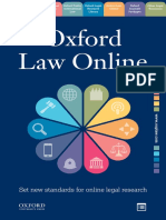 Oxford Law Online