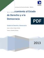 Ensayo sobre Democracia y DDHH