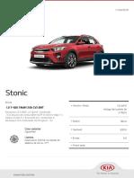 Kia Configurator Stonic Drive 20190411