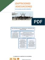 Adaptaciones evaluaciones diferenciadas