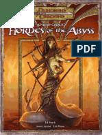 D&D 3.5ª Edition - Fiendish Codex I - Hordes of the Abyss.pdf