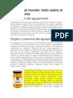 Aguaymanto Peru