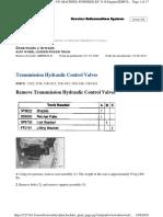 Transmission Hydraulic Control Valves