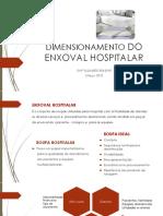 Dimensionamento de Enxoval Hospitalar