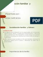 Socialización Familiar y Género Rosa