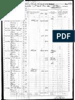 1860 Census Andre Deslondes