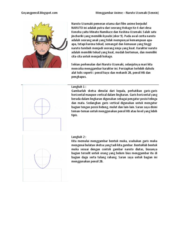 35+ Trend Terbaru Sketsa Gambar Naruto Pensil Mudah - Tea ...