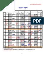 Calendarios exámenes