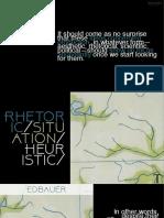Rhetorics Situations Heuristic