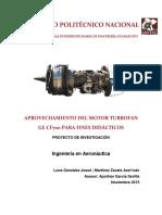 Aprovechamiento del Motor Turbofan GE CF700 Para Fines Didacticos.pdf