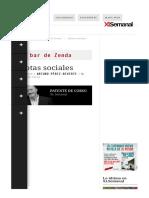 Idiotas Sociales - Arturo Pérez-Reverte