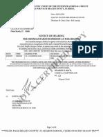Robert Kraft Document