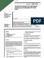 NBR 12247 NB 1319 - Execucao de placas de argamassa armada para sinalizacao em area urbana.pdf