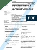 NBR 13280 - Argamassa para assentamento de paredes e revestimento de paredes e tetos - Determinacao da d.pdf