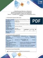 Guía de actividades y rúbrica de evaluación - Tarea 2 - Cuantificación y relación en la composición de la materia-1.docx