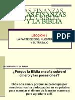 LA BIBLIA Y LAS FINANZAS