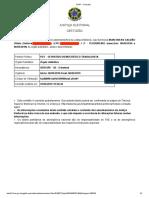 Certidão - Iran Galvão - Tesoureiro do Diretório Estadual do PDT