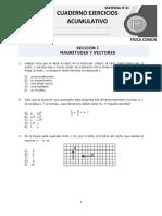 Física Común 21 Cuaderno Ejercicios Acumulativo