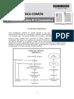 Física Común Resumen Libro N°4 Mecánica I 2018