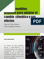 Adoptar Medidas Urgentes Para Adoptar El Cambio Climático - Copia