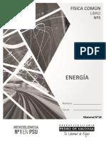 Libro N°5 Energía 2018