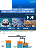 Indonesia Export & Import