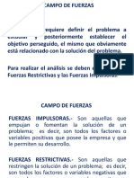 6. Campo de Fuerzas.(1)