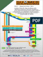 Metro Summer Shutdown map