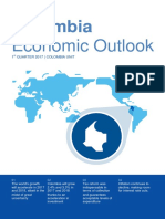 Colombia Economic Outlook 1 Quarter 2017