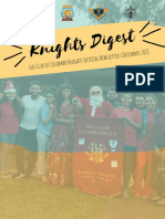 Knights Digest | Leo Club of Colombo Knight's Official Newsletter | December