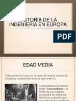 Historia de La Ingenieria en Europa p.. (1)