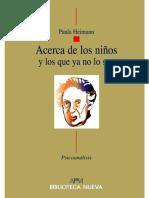 Paula Heimann. Acerca de los niños y los que ya no lo son (1).pdf