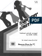 Swingin With Saints SATB