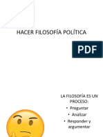Filosofía Política Introducción