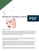 História Dos Cosméticos No Brasil _ Blog Do Perfume