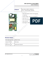 SN03A Board Manual(36W)Driver Led