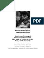 Protocolos Clinicos en La Maternidad- Tomo 1 (1)
