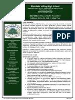 2018 school accountability report card murrieta valley high school 20190123