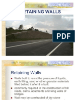 Retaining Walls Lecture